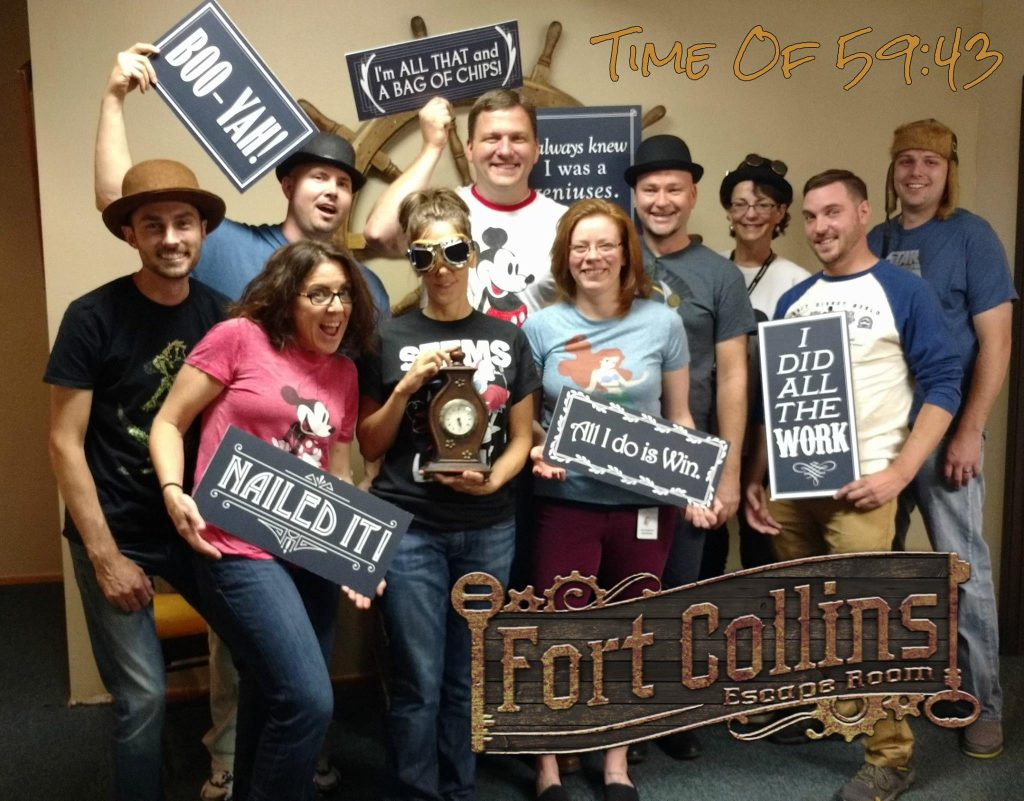 corporate team building fort collins