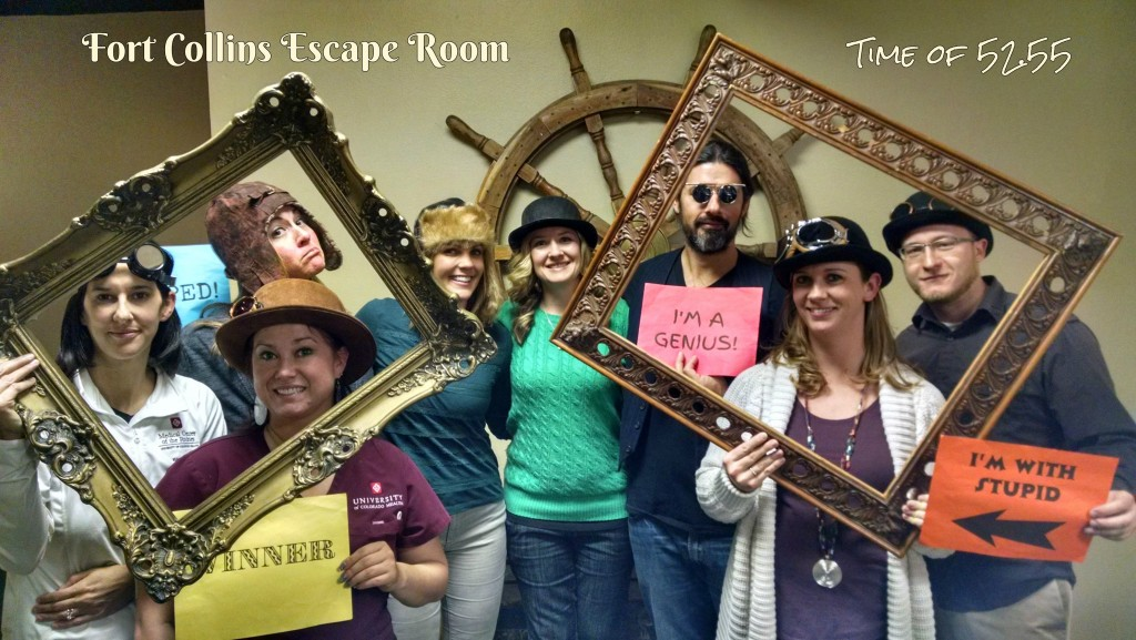 Players at The Fort Collins Escape Room