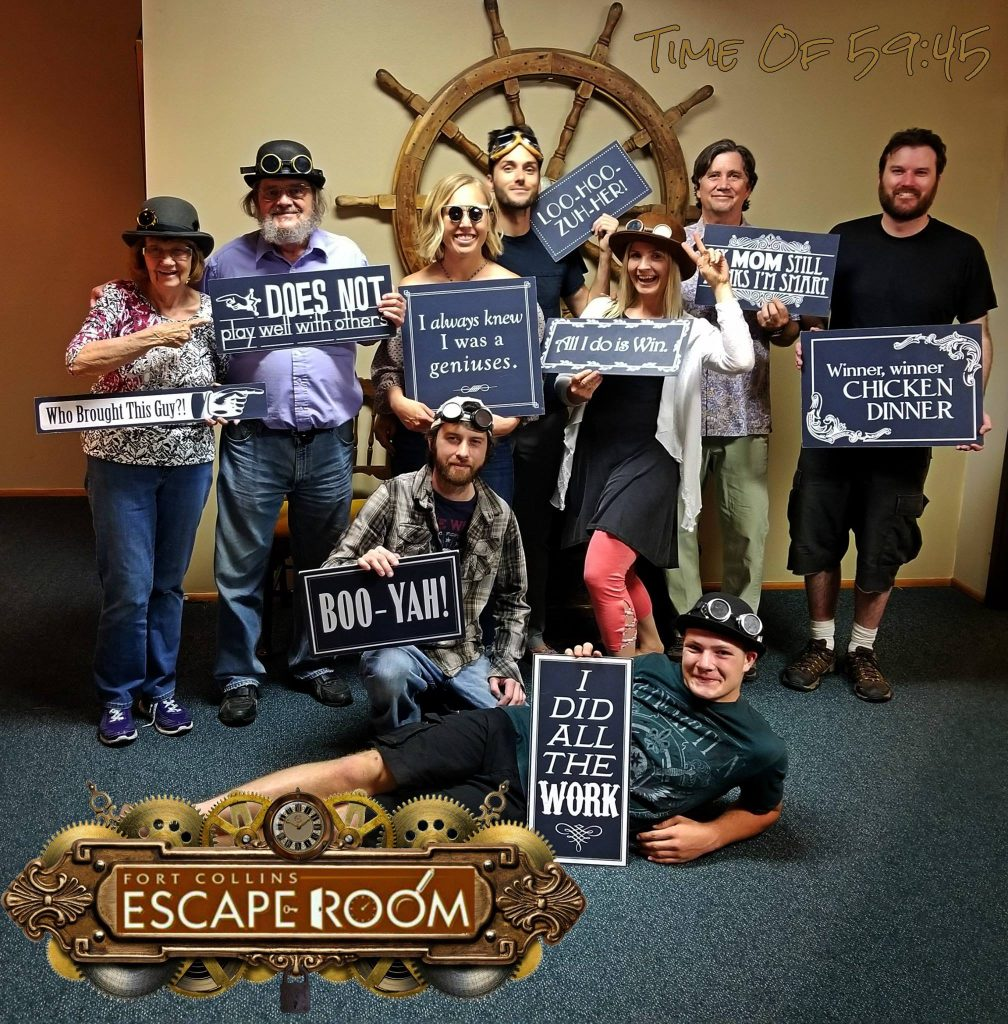 escape room Fort Collins Colorado