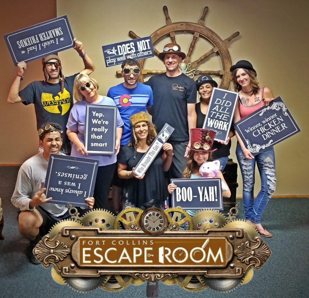 Fort Collins Escape room, what to do