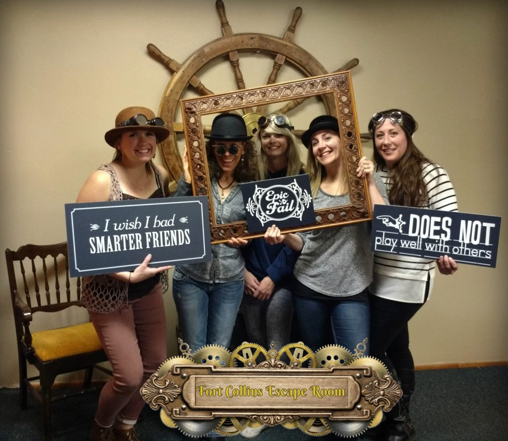 Escape game in Fort Collins Colorado