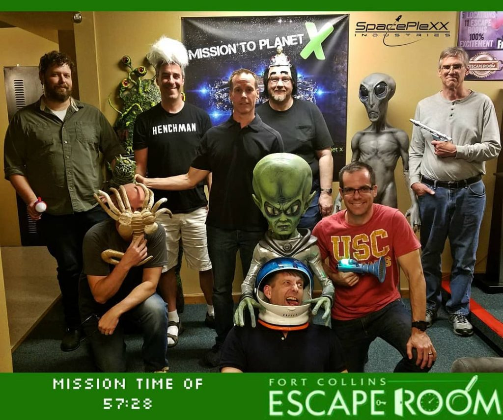 escape room team building in fort collins Colorado
