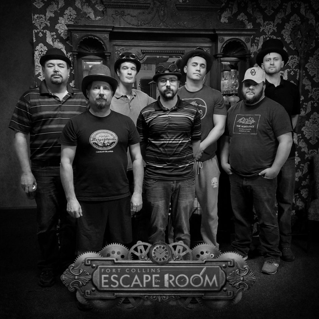 team at Fort Collins Escape Room