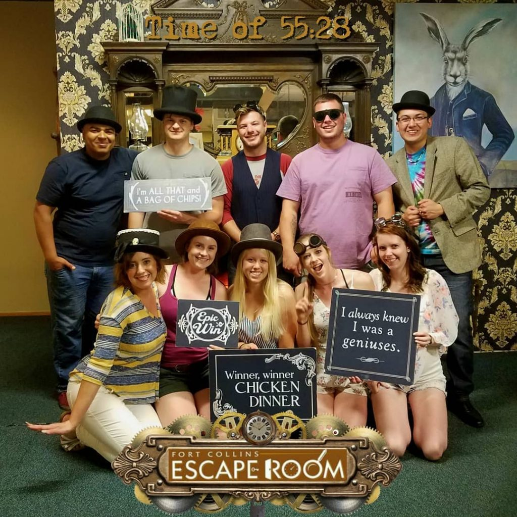 Fort Collins Escape Room date night