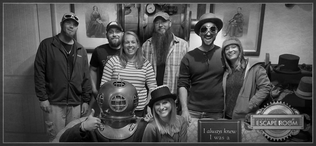 Escape room game fort collins colorado