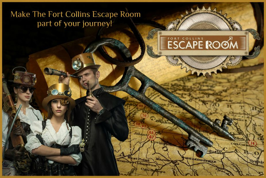 what to do in Fort Collins, escape room, Colorado,